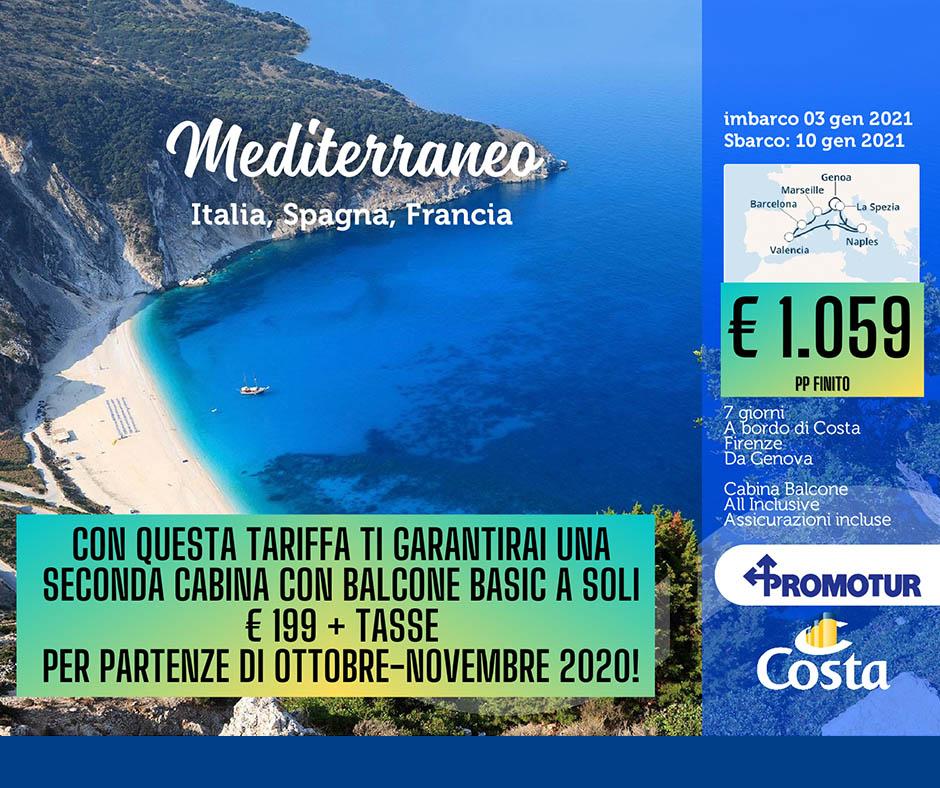 Costa Firenze - 3 gennaio 2021