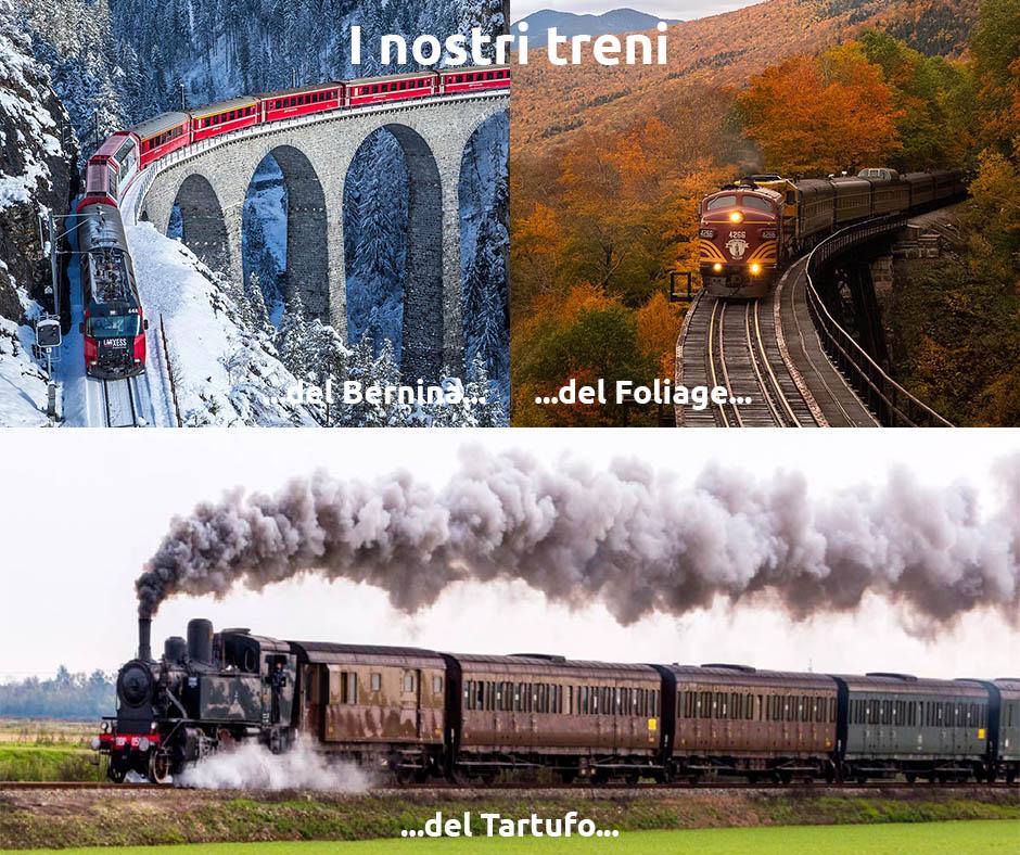 I treni di Promotur