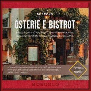 Cofanetto Osterie e Bistrot - Boscolo