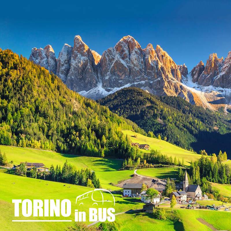 Tour delle Dolomiti - Torino in Bus