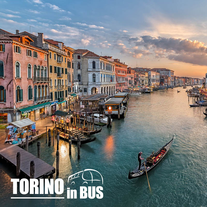 Gran Tour del Veneto - Torino in Bus